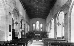Margam, Abbey Interior c.1955