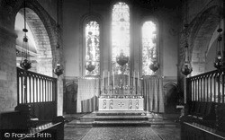 Margam, Abbey, The Altar c.1955