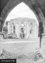 Margam, Abbey, The Chapter House c.1955