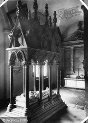 Margam, Abbey, The Talbot Tomb c.1955