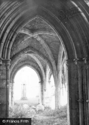 Margam, The Abbey 1949