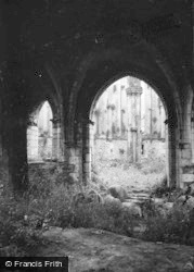 Margam, The Abbey 1953