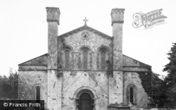 Margam, The Abbey Church Of St Mary The Virgin c.1955