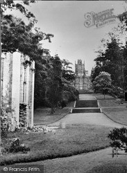Margam, The Castle From The Abbey c.1955
