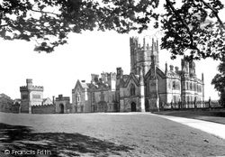 Margam, The Castle, The North Front 1938