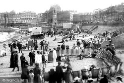 Margate, Beach Entertainers On The Sands 1906