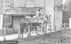 Margate, Cart At Draper's Mills c.1900