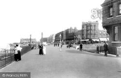 Margate, Clifton Baths Promenade 1897