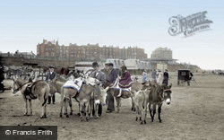 Donkeys On The Sands 1906, Margate