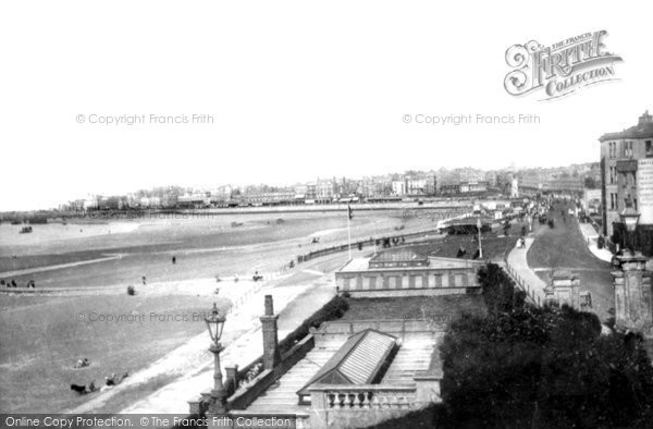 Photo of Margate, from Nayland Rock 1890