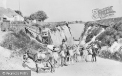 Margate, Newgate Gap, The Donkey Stand c.1887