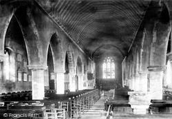 Margate, St John's Church Interior 1892