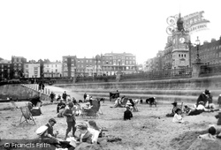 Margate, The Beach And Seafront 1906