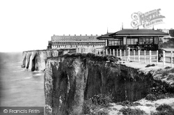Margate, The Fort And Cliffs 1887