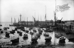 Margate, The Harbour 1906