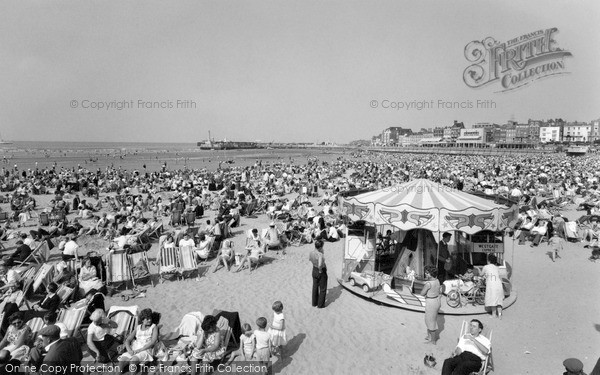 Photo of Margate, the Sands 1961