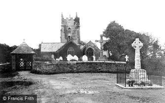 Marhamchurch, Church and War Memorial 1920
