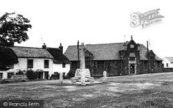Marhamchurch, Church Of England Hall And War Memorial c.1960