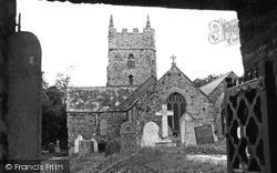 Marhamchurch, Church Of St Marwenne c.1960