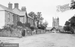 Marhamchurch, St Marwenne's Church 1920