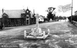 Marhamchurch, The Memorial c.1960