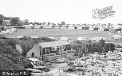 Marian Glas, Sailing Club, Traeth Bychan c.1960, Marian-Glas