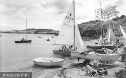 Marian Glas, The Beach, Traeth Bychan c.1960