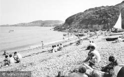 Marian Glas, Traeth Bychan Beach c.1960, Marian-Glas