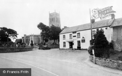 Mark, Packhorse Hotel And Church c.1960