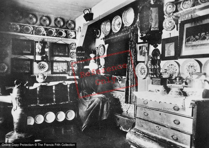 Photo of Marken, Traditional House, Interior c.1900