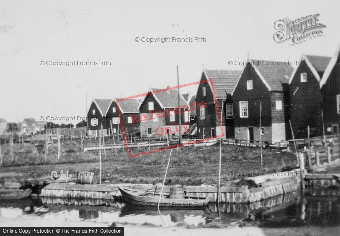 Photo of Marken, Traditional Wooden Houses c.1930