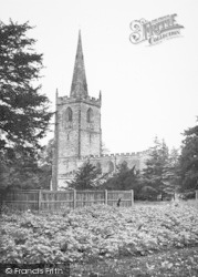 Market Bosworth, St Peter's Church c.1955