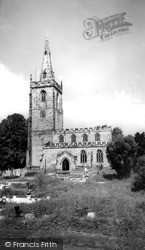 Market Bosworth, St Peter's Church c.1965