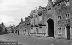 Market Deeping, High Street c.1955