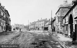 Market Deeping, Market Place 1900