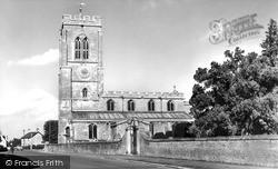 Market Deeping, St Guthlac's Church c.1960