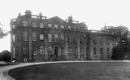 Market Drayton, Buntingsdale Hall 1899