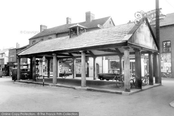 Market Drayton, Buttercross c.1965
