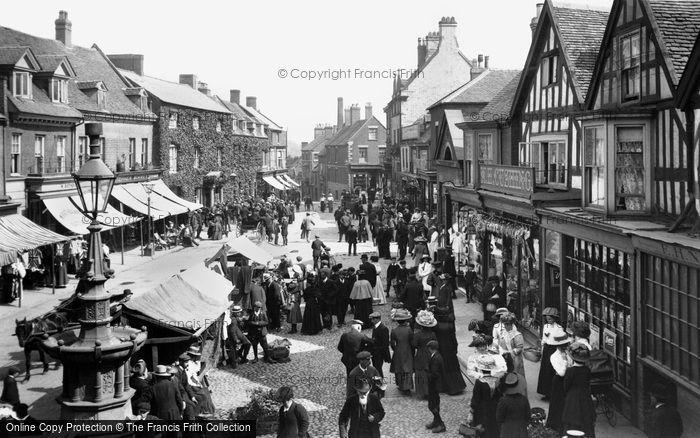 Market Drayton, Market Day 1911