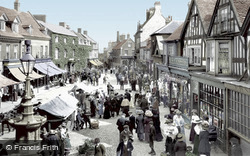 Market Day 1911, Market Drayton