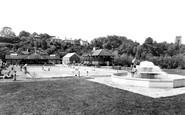 Market Drayton, the Swimming Pool c1960