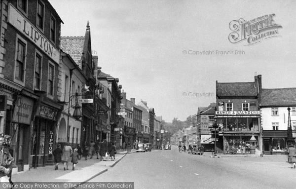Photo of Market Harborough, c1950