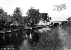 Market Harborough, Canal Boathouses 1922