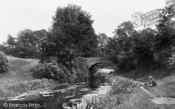 Market Harborough, Canal Bridge 1922