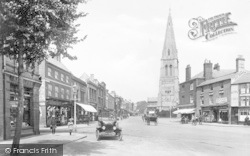 Market Harborough, High Street 1922