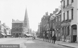 Market Harborough, High Street 1922