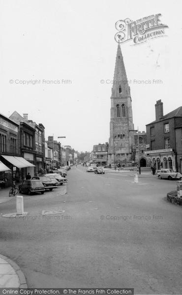 Photo of Market Harborough, High Street c.1965
