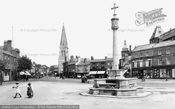Market Harborough, Market Place 1922
