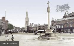 Market Harborough, Market Place 1922