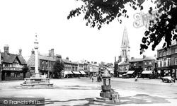 Market Harborough, Market Square 1922